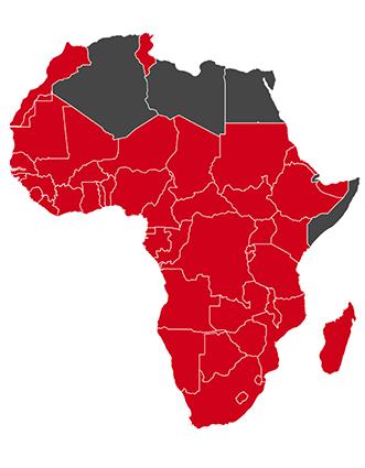Axiomatic Africa Regions